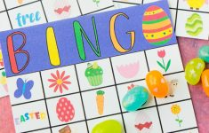 Free Printable Easter Bingo Cards – Play Party Plan