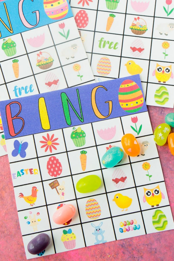 Free Printable Easter Bingo Cards For Adults