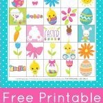 Free Printable Easter Bingo Game Cards Are Tons Of Fun For