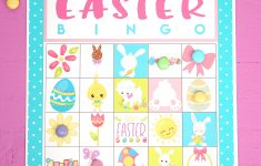 Free Printable Easter Bingo Game Cards – Happiness Is Homemade