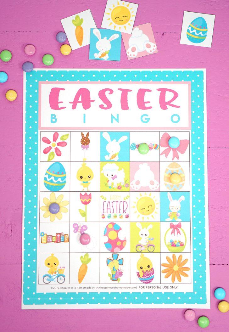 Free Easter Bingo Cards Printables