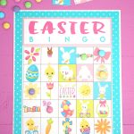 Free Printable Easter Bingo Game Cards   Happiness Is Homemade