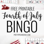 Free Printable Fourth Of July Bingo Cards | Fourth Of July