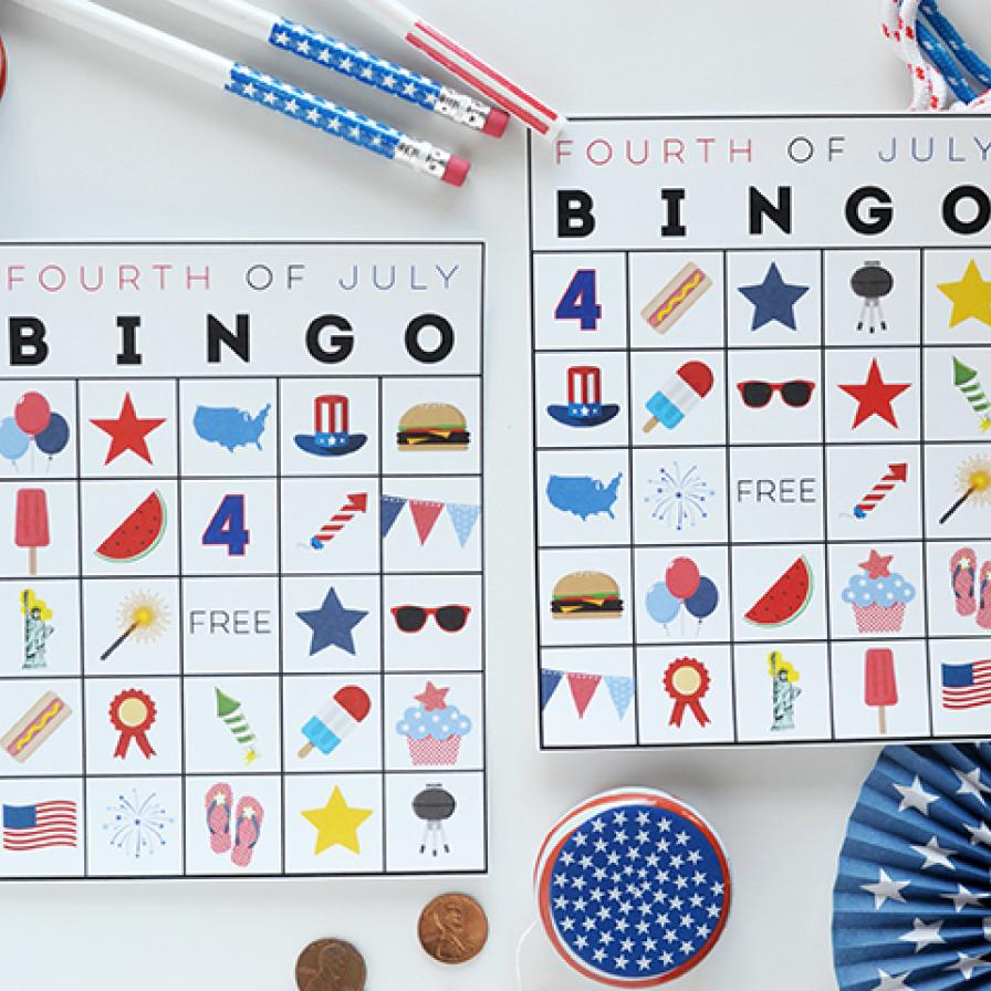 Free Printable Fourth Of July Bingo | Fun365