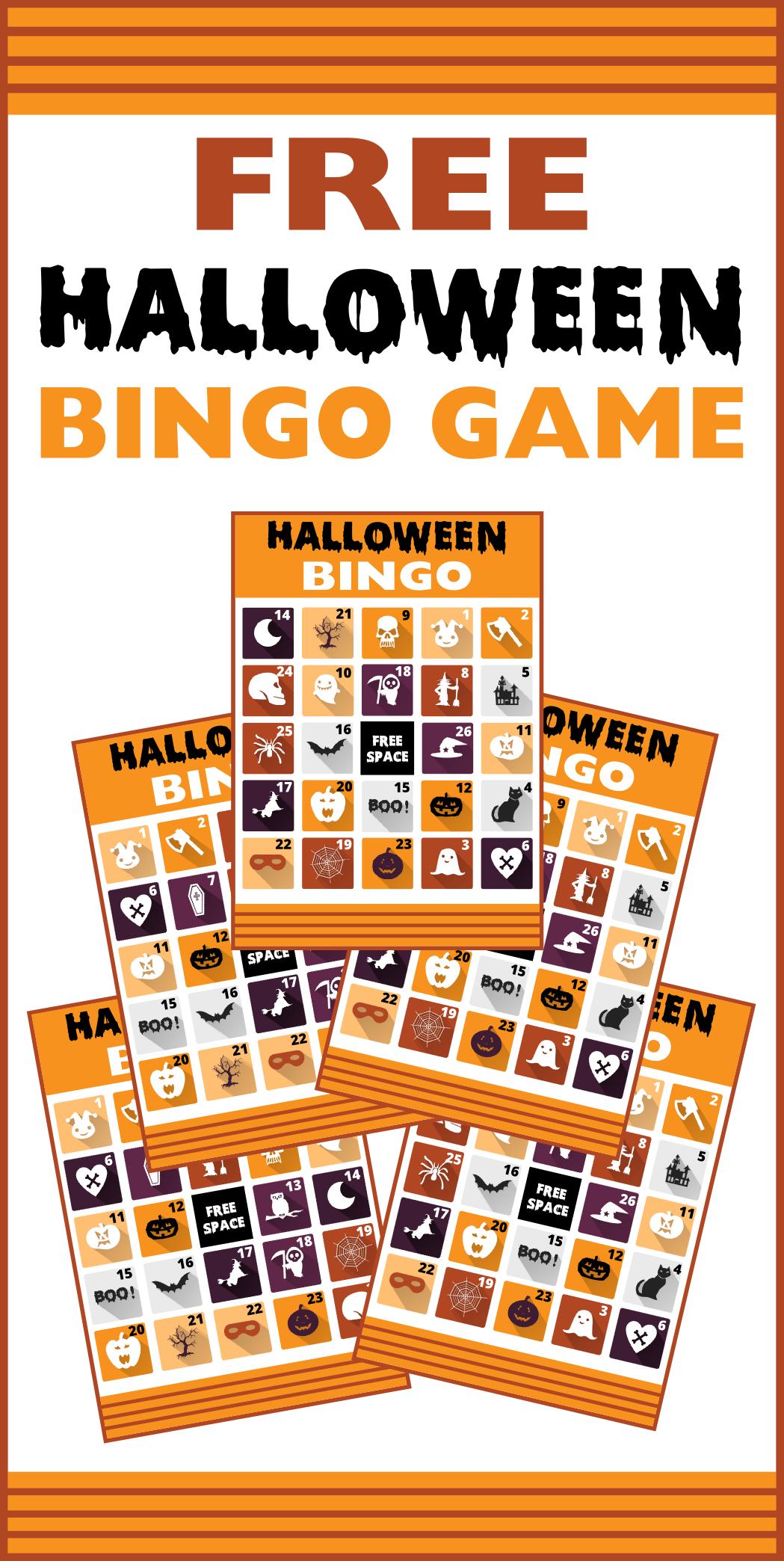 Free Printable Halloween Bingo Cards | Catch My Party