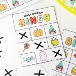 Free Printable Halloween Bingo Cards   Design Eat Repeat
