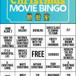 Free Printable Holiday Movie Christmas Bingo Cards