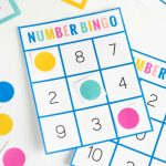 Free Printable Number Bingo   Design Eat Repeat