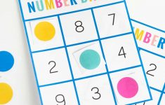 Free Printable Number Bingo – Design Eat Repeat