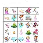 Free Printable Princess Bingo Game   Princess Bingo