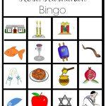 Free Printable Rosh Hashanah Bingo | Rosh Hashanah Crafts