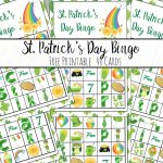 Free Printable St. Patrick's Day Bingo: 40 Cards
