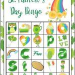 Free Printable St. Patrick's Day Bingo: 40 Cards | St