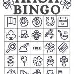 Free Printable St. Patrick's Day Bingo Cards   Paper Trail