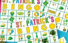 Free Printable St. Patrick's Day Bingo Cards – Play Party Plan