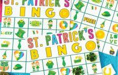 Free Printable St. Patrick's Day Bingo Cards – Play Party Plan