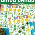 Free Printable St. Patrick's Day Bingo Cards   Play Party Plan