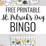 Free Printable St. Patricks Day Bingo Sheets And Calling