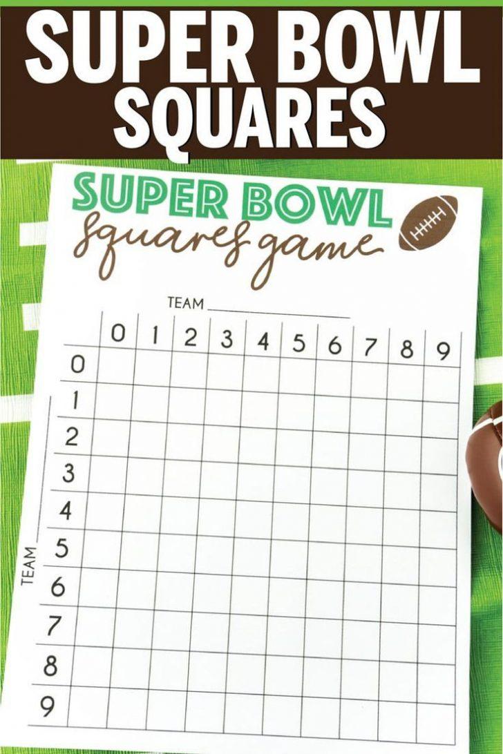 Free Printable Super Bowl Bingo Cards 2014