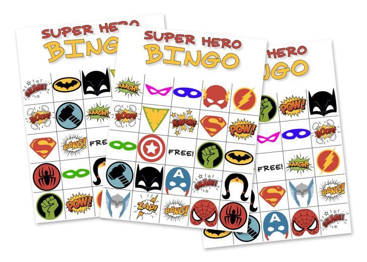 Free Printable Batman Bingo Cards