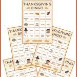 Free Printable Thanksgiving Bingo Cards   Catch My Party