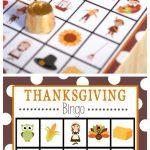 Free Printable Thanksgiving Bingo Game | Thanksgiving Bingo