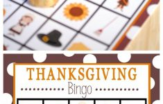 Free Printable Thanksgiving Bingo Game | Thanksgiving Bingo
