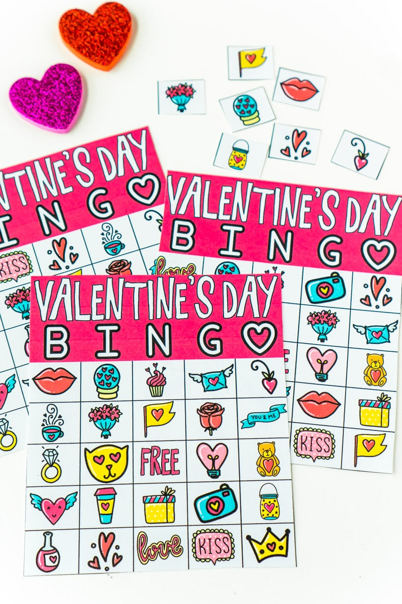 Free Printable Valentine Bingo Cards For All Ages - Play
