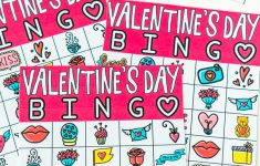 Free Printable Valentine Bingo Cards For All Ages – Play