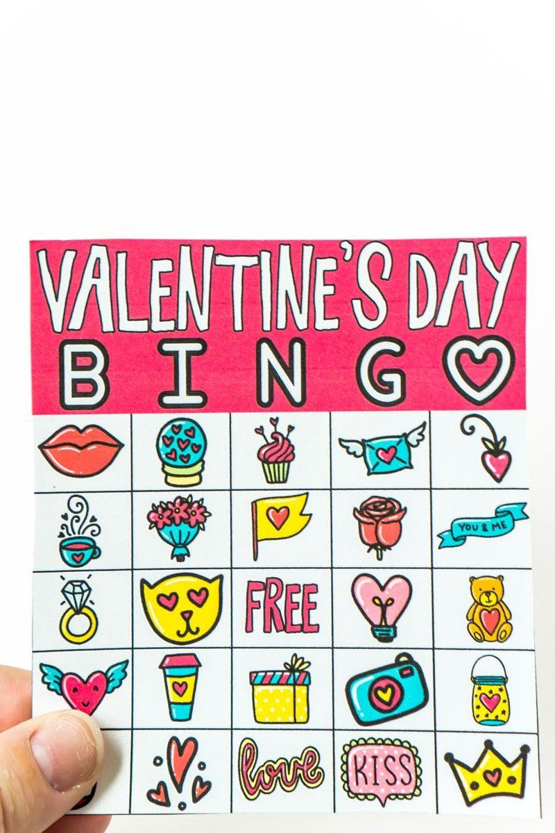Free Printable Valentine Bingo Cards | Valentine Bingo