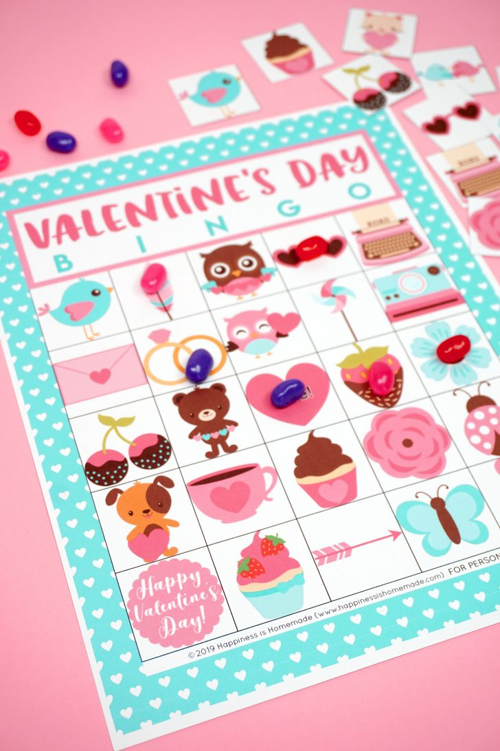 Valentine Printable Bingo Cards