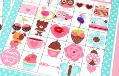 Free Printable Valentine Bingo – Happiness Is Homemade