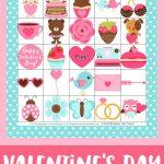 Free Printable Valentine's Day Bingo Cards   Happiness Is