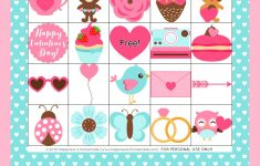 Free Printable Valentine's Day Bingo Cards – Happiness Is
