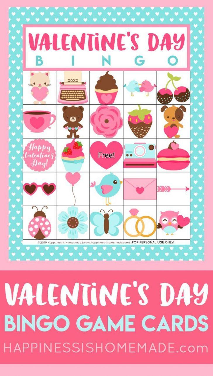 Printable Valentine Bingo Cards For Free