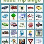 Free Road Trip Bingo Game For Kids   Homemaking Expert