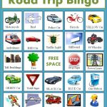 Free Road Trip Bingo Game For Kids   Homemaking Expert (With