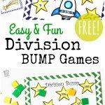 Free Simple Printable Division Games {1 2 Digit Divisors}