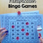 Free Single Player Multiplication Bingo Games   The Measured Mom