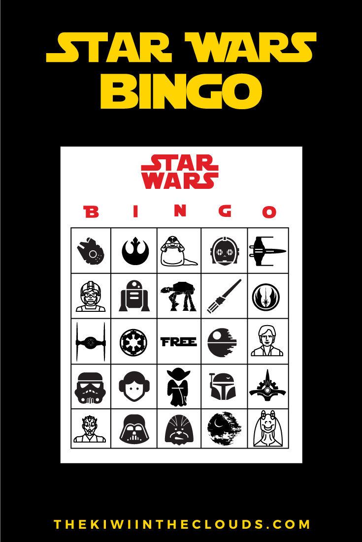 Free Star Wars Party Printables: A No-Stress Way To A