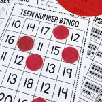 Free Teen Number Activities   Bingo!   The Measured Mom