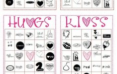 Free Valentines Bingo Cards
