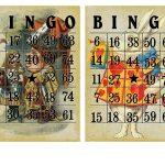 Free Vintage Alice In Wonderland Bingo Cards | Alice In