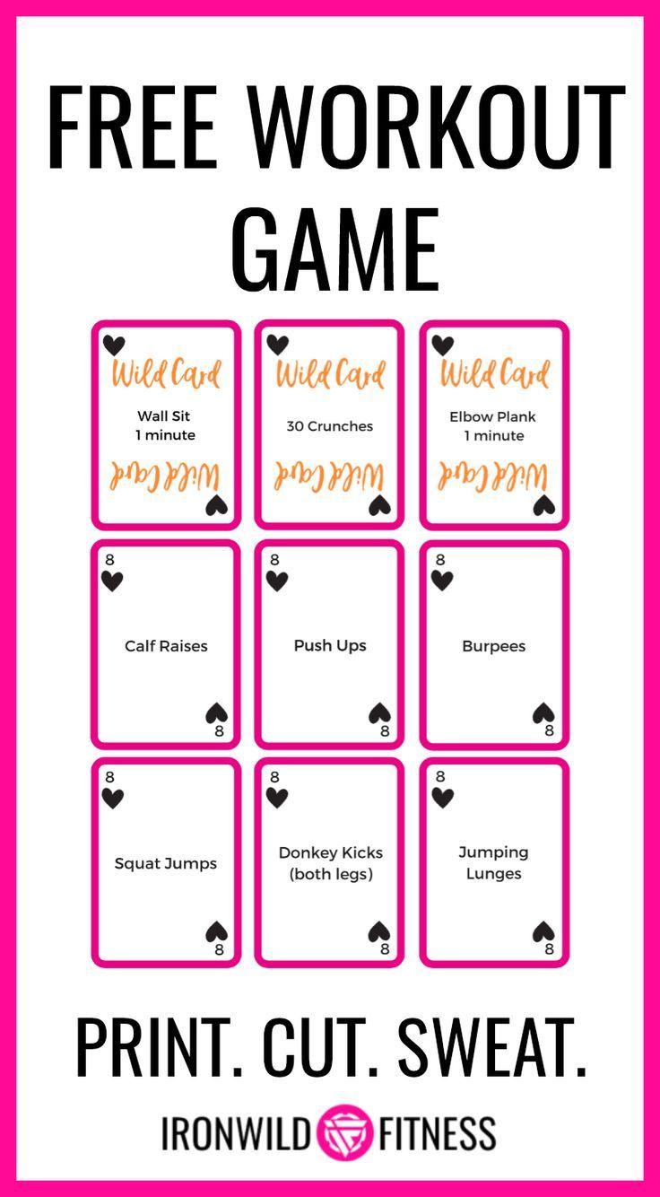 Free Workout Game - Wildcard Workout Card Deck
