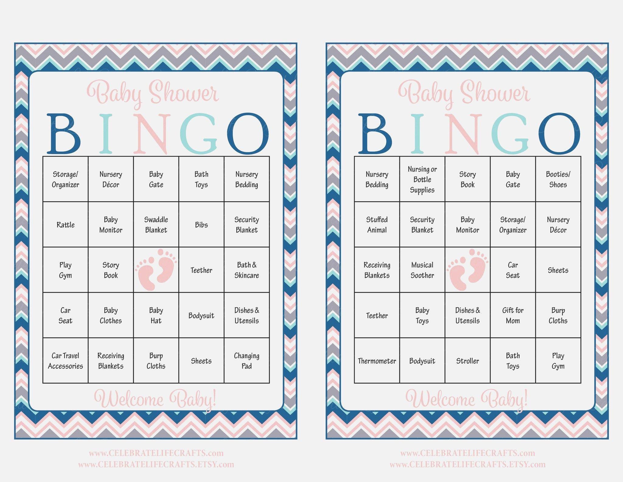 Fresh Baby Shower Bingo Cards Home Decor Color Trends Fancy