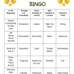 Friendship Bingo Card #2 | Bingo Cards, Bingo, Social Work