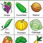 Fruit And Veggie Bingo Game With Free Bingo Cards   Free
