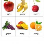 Fruit Bingo   English Esl Worksheets For Distance Learning