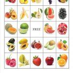 Fruit Bingo4 (1240×1754) | Voeding, Groenten, Fruit