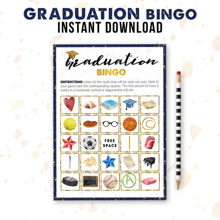 Graduation Bingo Cards Printable Free
